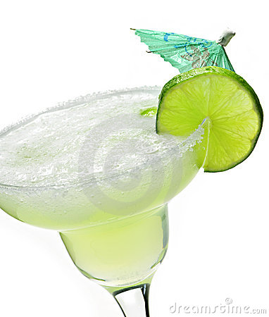 Glass margarita