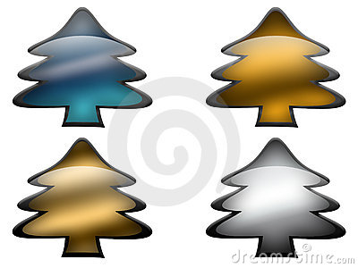 Glass Metal Pines