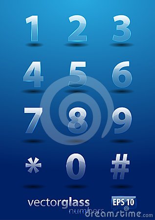 Glass numbers