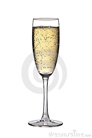 Free Glass Of Champagne Royalty Free Stock Photography - 15719707