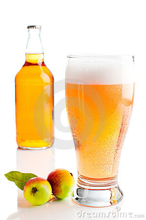Free Glass Of Cider Stock Image - 16205091