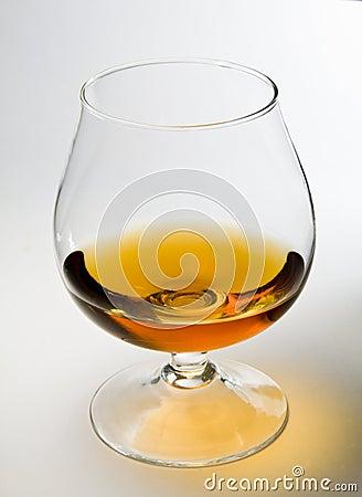 Free Glass Of Cognac Stock Image - 13075781