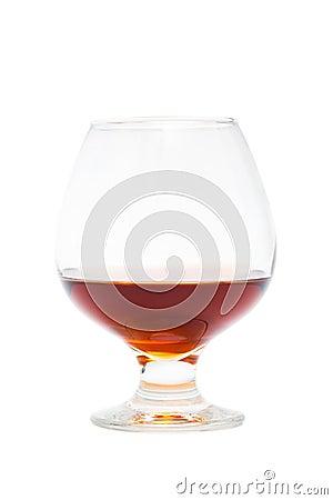 Free Glass Of Cognac Stock Photo - 8952350