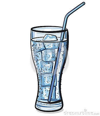 Free Glass Of Fresh Cool Water With Ice Stock Image - 28931051