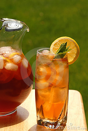 Free Glass Of Iced Tea Royalty Free Stock Photos - 2446218