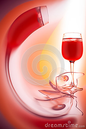 Free Glass Of Red Wine Royalty Free Stock Image - 29685436