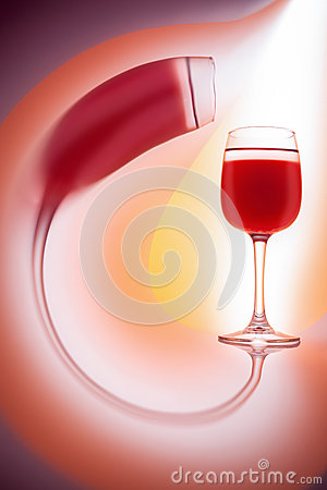 Free Glass Of Red Wine Royalty Free Stock Photography - 29685437