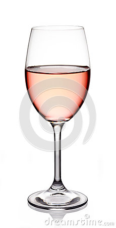 Free Glass Of Rose Wine Royalty Free Stock Photos - 33953468