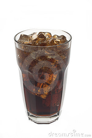 Free Glass Of Soda And Ice Stock Photo - 5211310