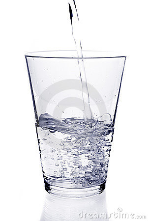 Free Glass Of Water Royalty Free Stock Photography - 12836927