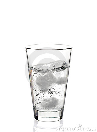 Free Glass Of Water Stock Image - 2433631