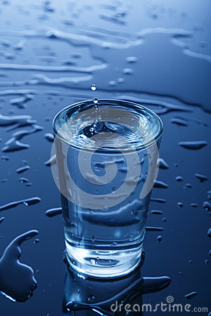 Free Glass Of Water Royalty Free Stock Photo - 28333455