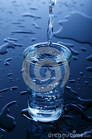 Free Glass Of Water Stock Photo - 28333460