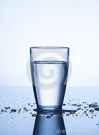 Free Glass Of Water Stock Photo - 28424210
