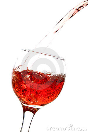 Free Glass Of Wine Royalty Free Stock Images - 22617999