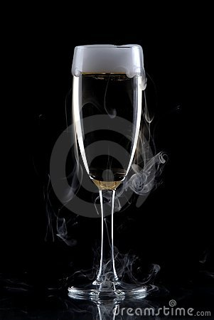 Free Glass Of Wine Isolated Over Black Background Stock Photography - 3882662