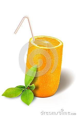 Glass orange
