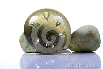 Glass paper weight