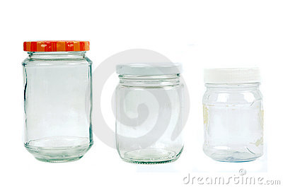 Glass and plastic containers