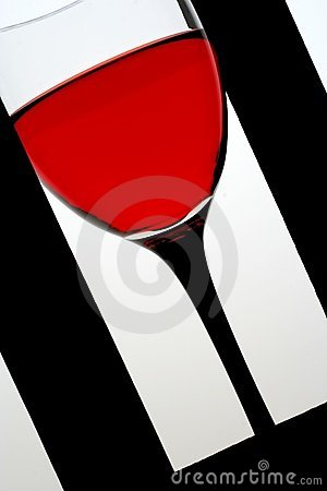 Glass of Rose Wine.in  Frame