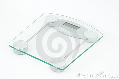 Glass scale