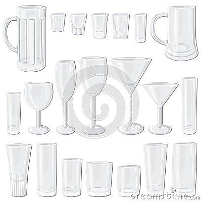 Free Glass Set Stock Image - 5236391