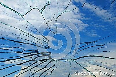 Glass and sky