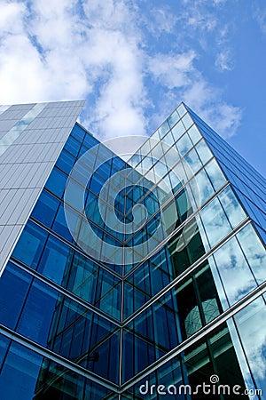 Free Glass Skyscraper Stock Image - 2160681