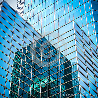 Free Glass Skyscraper With Abstract Texture Royalty Free Stock Photo - 40955935