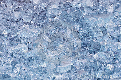 Glass slag