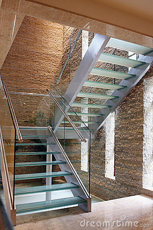 Free Glass Stairway Stock Image - 15055281