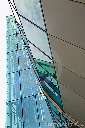 Glass and Steel Building