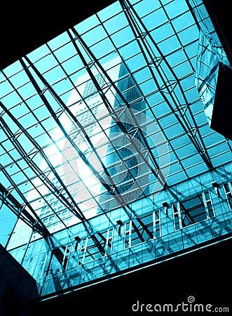 Free Glass & Steel Skylight Stock Photography - 5902582
