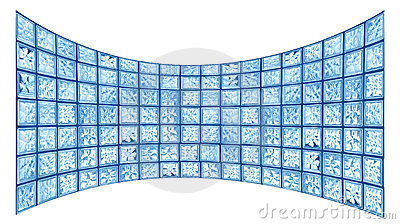 Glass tile widescreen