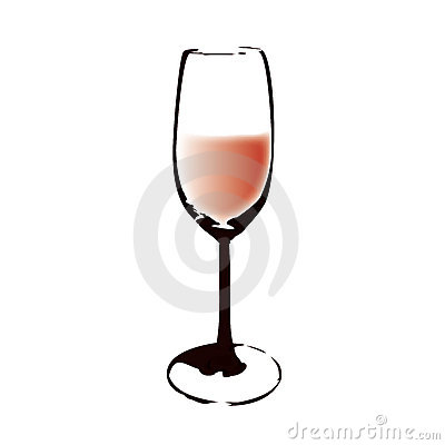 A glass (vector)