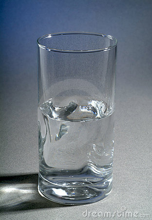 Is the glass of water half full or half empty?