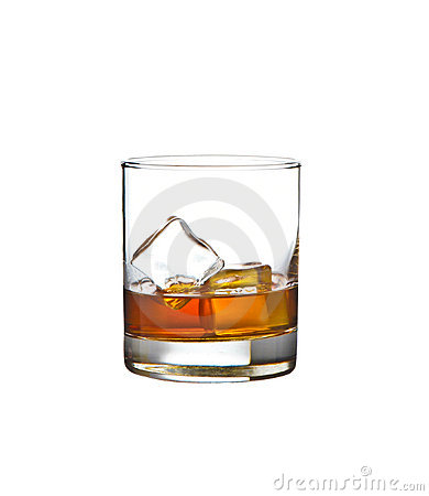 Glass Of Whiskey Royalty Free Stock Photo - Image: 13627075