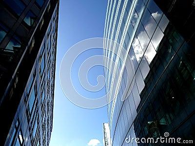 Glass Windows On Modern Building 4