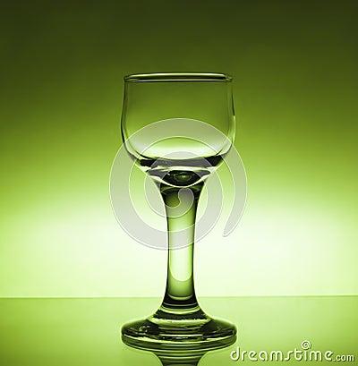 Glass wine-glass