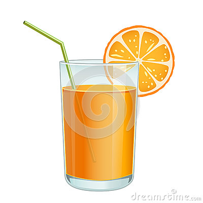 Free Glass With Orange Juice Stock Photo - 56217990