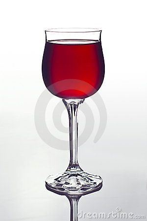 Free Glass With Red Wine Stock Images - 10353344
