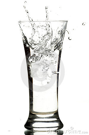 Free Glass With Water Stock Image - 3692691