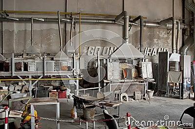 Glass workshop in Murano island, Venice, Italy