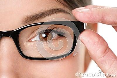 Glasses eyewear closeup