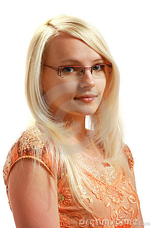 Free Glasses Lady Royalty Free Stock Image - 10297676