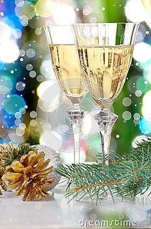 Free Glasses Of Vine. Royalty Free Stock Photo - 26962305