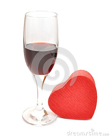 Glasses Of Red Wine Stock Photo - Image: 18243690