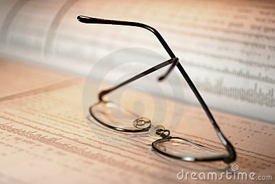 Glasses on Stock Page