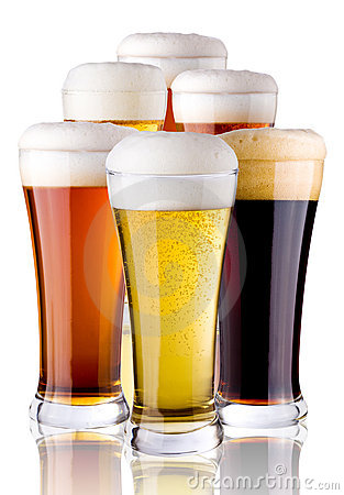 Free Glasses With Beer Stock Photo - 7392900