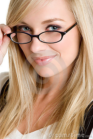 Free Glasses Woman Royalty Free Stock Photos - 5506238